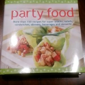 Party food cookbook